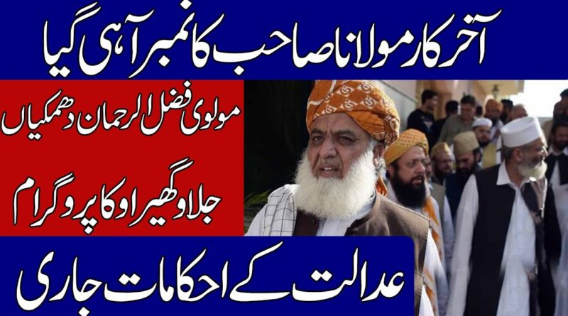 NAB Approves Inquiry Against Fazlur Rehman | Geo News Urdu