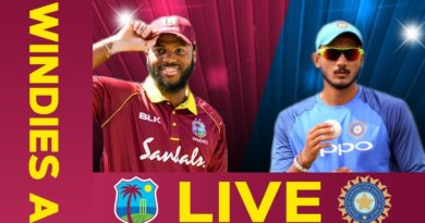 LIVE West Indies A v India A 4th ODI | India Tour Of West Indies
