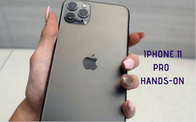 iPhone 11 Pro Max Hands-on & First Look - The Triple Camera