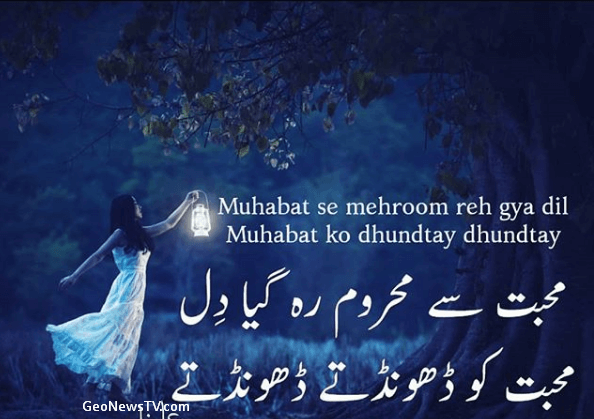 Love Poetry SMS- Shayari Urdu Love-Amazing Poetry
