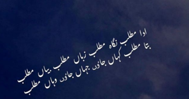 Amazing Poetry-Sad Love Poetry in Urdu- Poetry Sad