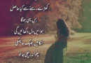 Sad poetry sms in urdu-Poetry sad-Sad urdu shayari-Amazing Poetry