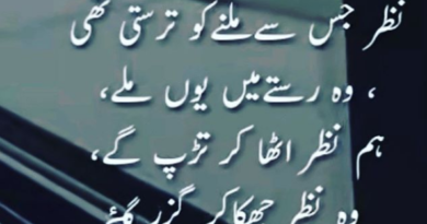 Sad Love Poetry in Urdu- Poetry Sad- Amazing Poetry-sad poetry in urdu 2 lines