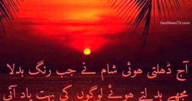 Sad Love Poetry in Urdu- Poetry Sad- Amazing Poetry