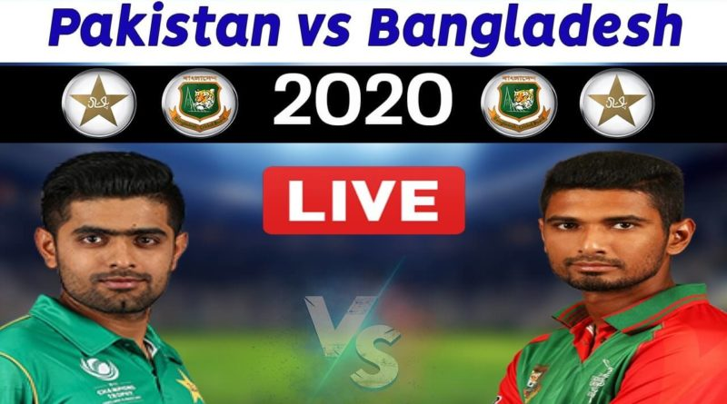 Pakistan vs Bangladesh Live Match-PAK vs BAN 1st T20 Live Streaming