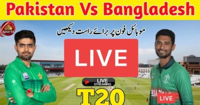 Pakistan vs Bangladesh Live 2nd T20 Match-Free Watch on Mobile