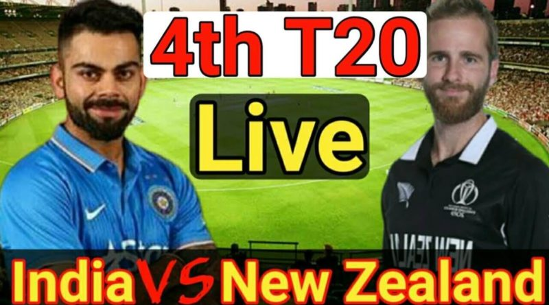 India vs New Zealand 4th t20 live-IND vs NZ LIVE Streaming