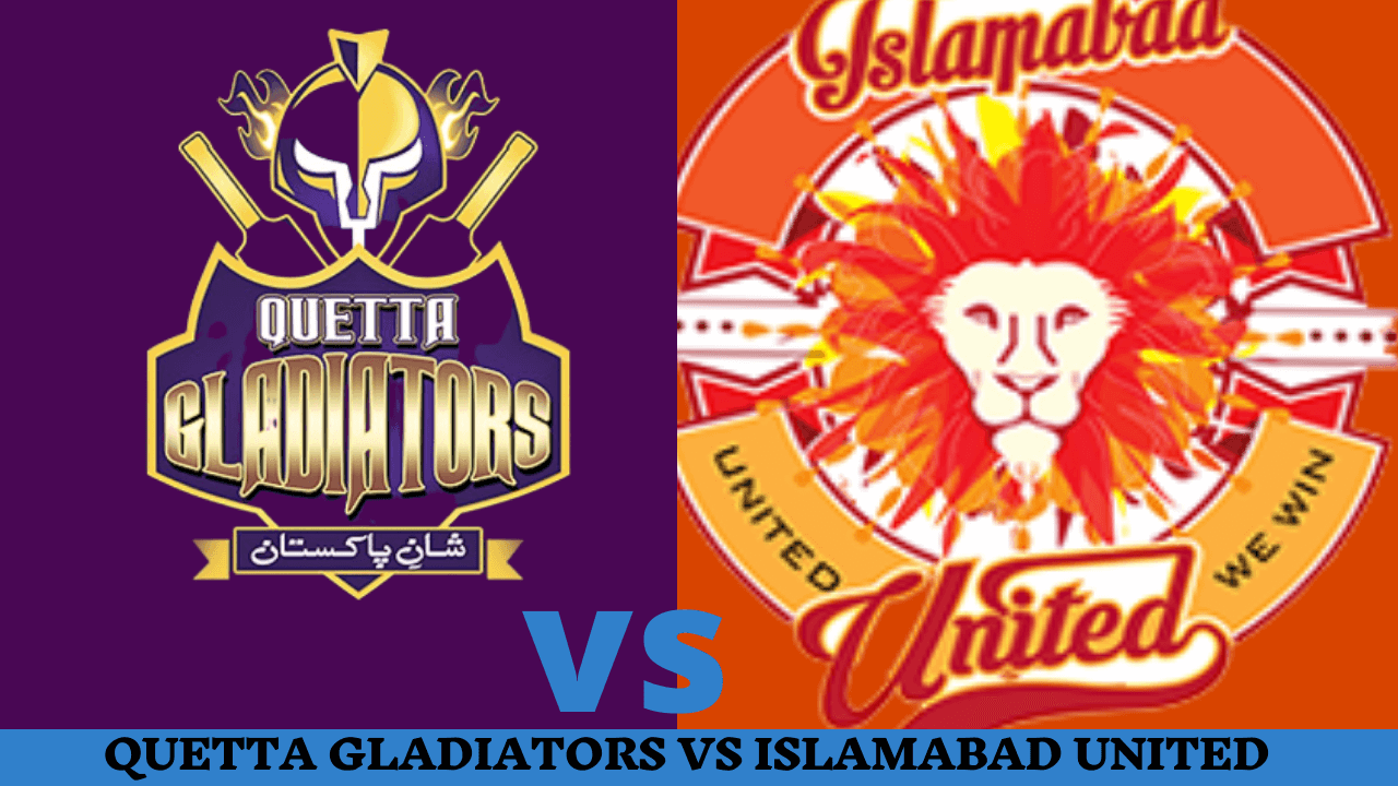 PTV Sports Live Streaming-Quetta Gladiators vs Islamabad United Live